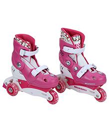 Hello Kitty Skates 3 Wheels Cutie Look Pink - Hello Kitty Print