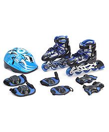 Fab N Funky Adjustable Skate Set - Blue