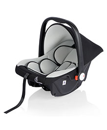 R For Rabbit Picaboo Infant Car Seat Cum Carry Cot - Black And Grey