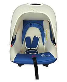 R for Rabbit Picaboo Infant Car Seat Cum Carry Cot - Blue And Beige