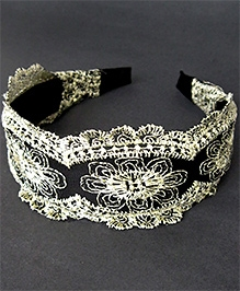 ATUN Embroidered Lace Hairband