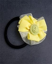 ATUN Pony Band - Yellow Floral Applique