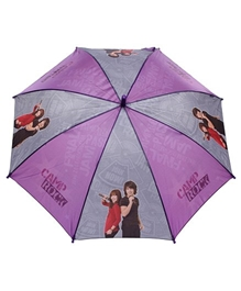Disney Kids Umbrella Purple And Grey - 19 Inches