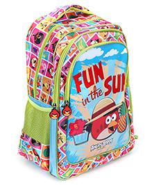 Angry Birds School Bag - Fun In The Sun - 32 X 16 X 44 Cm