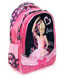 Barbie Pink Backpack - Bow Applique