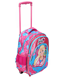 Barbie Pink Trolley Bag - 16 Inches