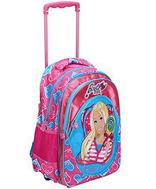 Barbie Pink Trolley Bag - 18 Inches