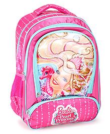 Barbie Mermaid Princess Backpack Pink - 16 inches