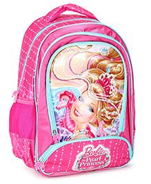 Barbie Mermaid Princess Backpack Pink - 18 inches