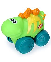 Funskool Playskool Wheel Pals Animals Dinosaur - Light Green - 10 X 6 X 8 Cm