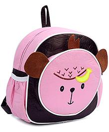 Fab N Funky Backpack Pink - Panda Face