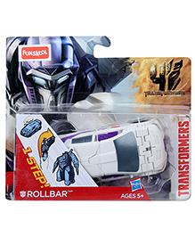 Transformers 1 Step Rollbar Flip To Change - White