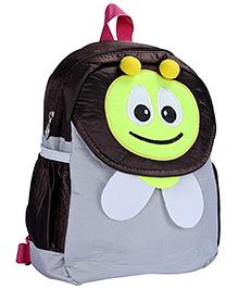 Fab N Funky Backpack Grey - Bee Design