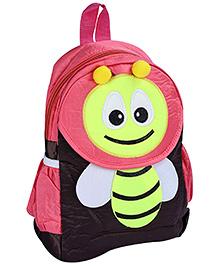 Fab N Funky Backpack Peach - Bee Design