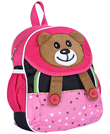 Fab N Funky School Bag - Panda Face - School Bag 22 X 10 X 30 Cm