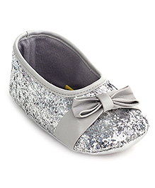 Gini & Jony Belly Style Booties - Silver