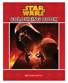 Scholastic Star Wars Colouring Book - English