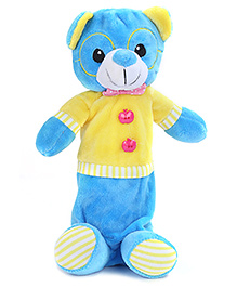 Fab N Funky Baby Pouch Blue And Yellow - Dog Shape