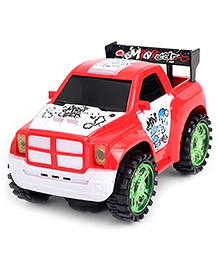 Fab N Funky Battery Operated Car - Red