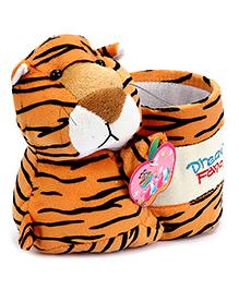 Fab N Funky Plush Pen Stand Orange - Tiger Design