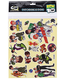 Sticker Bazaar Ben 10 Puffy Original A4 Sticker
