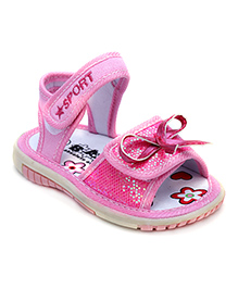 Bash Sandals Pink - Bow Design