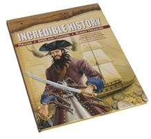 Euro Books - Incredible History of Pirates, Spies and Traitors, Buried Treasure