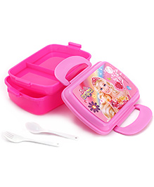 Barbie Double Layer Lunch Box - Pink