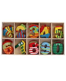 Fab N Funky Play Numbers Multicolor