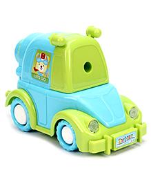 Fab N Funky Car Shape Sharpener - Blue And Green