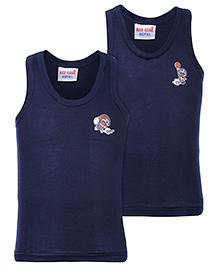 Doremon Sleeveless Vests - Set Of 2