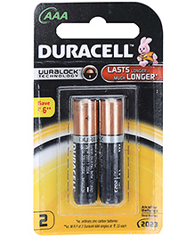 Duracell AAA Batteries - Pack Of 2
