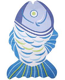 Fab N Funky EVA Room Mat Dark Blue - Fish Design