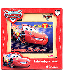 Disney Pixar Cars Piston Cup Lightning Mc Queen Puzzle
