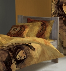 D'Decor - Pirates of the Carribbean Double bed sheets & Two Pillow Cover
