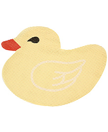 Fab N Funky Eva Mat Yellow - Duck Design