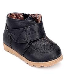 Ket Ankle Length Boots - Black
