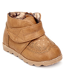 Ket Ankle Length Boots - Brown