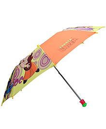 John Chhota Bheem Print Kids Umbrella - Orange