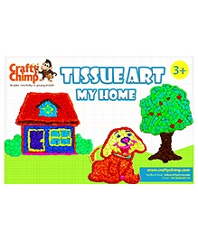 Crafty Chimp Tissue Art  My Home