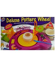 Kreative Box Deluxe Potters Wheel - Multi Color