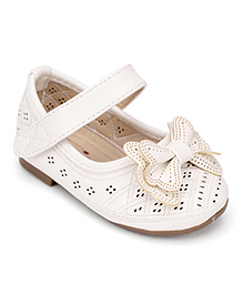 Ket Party Belly Shoes - Bow Applique
