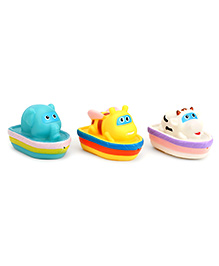 Mee Mee Bath Toys Multi Color - 3 Pieces