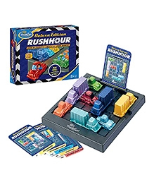 Think Fun Deluxe Edition Rush Hour The Ultimate Traffic Jam Game - For 8 Years +