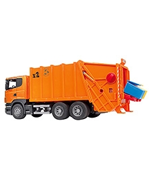 Bruder Scania Garbage Truck - Orange
