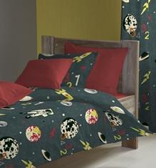 D'Decor - Astro Charcoal Single Bed Sheet Set