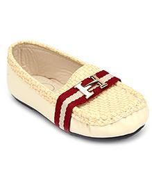 Ket Slip-On Loafer Shoes - Beige