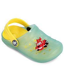 Bash Clog With Back Strap Green - Vehicle Applique