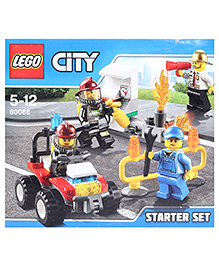Lego City Fire Starter Set - 92 Pieces - 5 To 12 Years