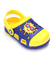 Cute Walk Clog Dual Color - Sun Applique